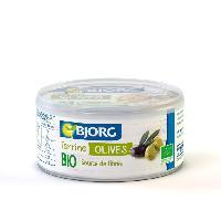 Conserve De Viande BJORG Terrine Végétale Olives Bio 125g