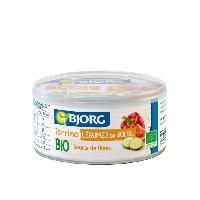 Conserve De Viande BJORG Terrine Végétale légumes du Soleil Bio 125g
