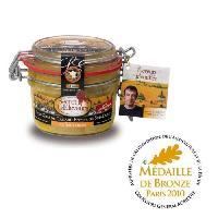 Conserve De Viande Foie Gras canard Sauternes 130g Médaillé x1 - Secret D'eleveurs