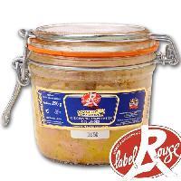 Conserve De Viande Foie Gras de Canard Entier Label Rouge 320g x1 Domaine De Castelnau
