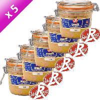 Conserve De Viande Foie Gras de Canard Entier Label Rouge 320g x5 - Domaine De Castelnau