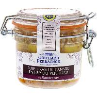 Conserve De Viande Foie gras du Perigord au Sauternes - 180 g