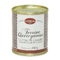 Conserve De Viande LA QUERCYNOISE Bloc de foie gras de canard - 200 g - Aucune
