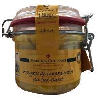 Conserve De Viande LA QUERCYNOISE Foie gras de canard entier - 180 g - Aucune