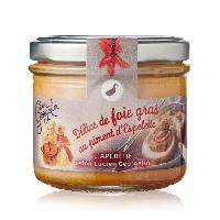 Conserve De Viande LUCIEN GEORGELIN Delice de foie gras au piment d'Espelette - 100 g