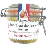 Conserve De Viande LUCIEN GEORGELIN Foie gras de canard entier - 180 g