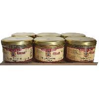 Conserve De Viande Lot 6 Terrines Gourmandes 180g Comte de la Seynie