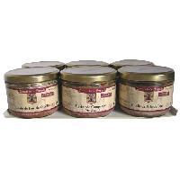 Conserve De Viande Lot de 6 Terrines Traditionnelles 180g - Comte de la SEYNIE