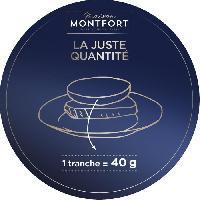Conserve De Viande MAISON MONTFORT Effiloche de canard confit au Foie gras - Recette au piment d'espelette - 90 g Aucune