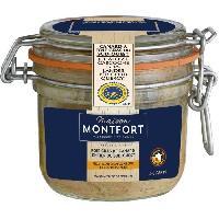 Conserve De Viande MAISON MONTFORT Foie gras de canard entier - Recette au champagne et duo de poivres - 160 g Aucune