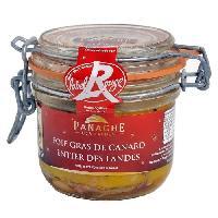 Conserve De Viande PANACHE DES LANDES Foie Gras de Canard Entier Label Rouge 180g