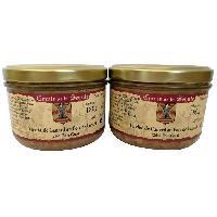 Conserve De Viande Terrine de Canard au Foie de Canard - 2 x 180 g - Generique