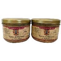 Conserve De Viande Terrine de Chevreuil au Foie de Canard - 2 x 180 g - Generique