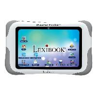 Console - Console Educative LEXIBOOK - Tablette Tactile Enfant Master Pocket - La Tablette Educative de Poche - Contenu Educatif et Ludique