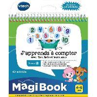 Console - Console Educative Livre Interactif Magibook - J'Apprends a Compter Avec Rex. Bella Et Leurs Amis