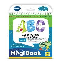Console - Console Educative VTECH - Livre Interactif Magibook - ABC. a La Decouverte De L'Alphabet