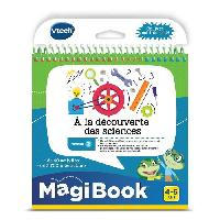 Console - Console Educative VTECH - Livre Interactif Magibook - A La Decouverte Des Sciences