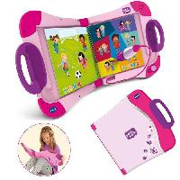 Console - Console Educative VTECH - Magibook - Starter Pack Rose
