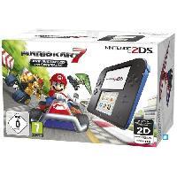 Console 2ds 2DS Bleue + Mario Kart 7 Préinstallé - Nintendo
