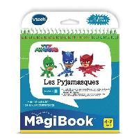 Console Educative VTECH - Livre Interactif Magibook - Les Pyjamasques