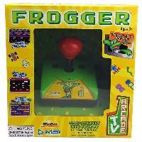 Console Retro Console avec Frogger integre TV Arcade Plug et Play
