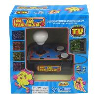 Console Retro Console avec jeu video integre Ms Pacman TV Arcade Plug et Play