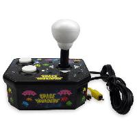 Console Retro Console avec jeu video integre Space Invaders TV Arcade Plug et Play