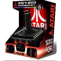 Console Retro Pack Joystick Atari TV Plug et Play + 50 jeux - Just For Games