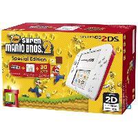 Consoles 2DS Rouge + New Super Mario Bros 2 - Nintendo