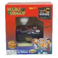 Consoles Console avec jeu video integre Double Dragon TV Arcade Plug et Play