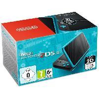 Consoles New Nintendo 2DS XL Noire et Turquoise