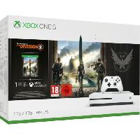 Consoles Xbox One S 1To Tom Clancy's the Division 2 - Microsoft