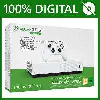 Consoles Xbox One S All Digital 1 To + 3 Jeux dématérialisés (Minecraft. Sea of Thieves et Forza Horizon 3) - Microsoft