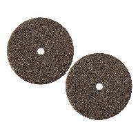 Consommable 2x Disques a poncer - Diametre 22mm - Acier - Ref 40 - ADNAuto