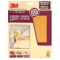 Consommable 3M SANDBLASTER Papier abrasif - 230 x 280 mm - Grain - 120