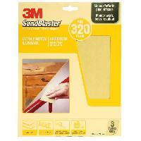 Consommable 3M SANDBLASTER Papier abrasif - 230 x 280 mm - Grain - 320