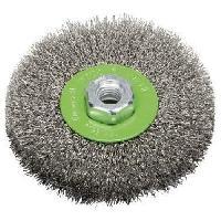 Consommable BOSCH Brosse circulaire Diam : 115 mm - Fil en acier inoxydable - 1 pieces