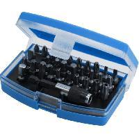 Consommable BRILLIANT Tools - Coffret d'embouts de vissage - 32 pcs