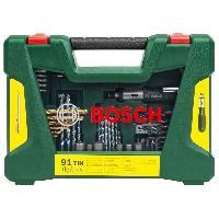 Consommable Coffret d'accessoires pour le percage et le vissage V-Line -91 pcs- - BOSCH