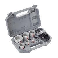 Consommable Coffret de 9 pieces de scies trepans bimetal HSS pour electricien - BOSCH