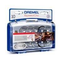 Consommable DREMEL 10 disques a tronçonner+ adapt EZ Speedclic