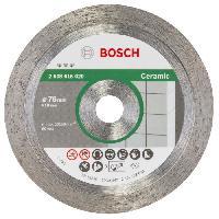 Consommable Disque a tronçonner diamanté 76 mm - BOSCH