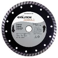 Consommable EVOLUTION Disque diamant FURY 185mm