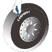 Consommable Feutre a pneus blanc