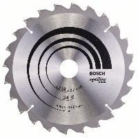 Consommable Lame de scie circulaire au carbure BOSCH PROFESSIONAL 216 x 30 x 2.0 mm -24 dents- - Bois