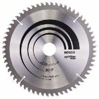 Consommable Lame de scie circulaire au carbure BOSCH PROFESSIONAL 216 x 30 x 2.0 mm -60 dents- - Bois