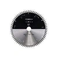 Consommable Lame de scie circulaire au carbure BOSCH PROFESSIONAL 250 x 30 x 2.4 mm -68 dents- - Aluminium