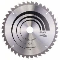 Consommable Lame de scie circulaire au carbure BOSCH PROFESSIONAL 254 x 30 x 2.0 mm -40 dents- - Bois
