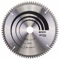 Consommable Lame de scie circulaire au carbure BOSCH PROFESSIONAL 254 x 30 x 2.5 mm -80 dents- - Bois