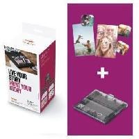 Consommables CANON Kit Creatif SELPHY - Format 8 mini-stickers 17x22mm - KC-18IL -Encre et etiquettes pour 18 impressions-